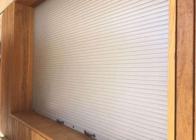 WA Roller Doors CW 36mm Extruded Roller Shutter, The Right Choice for Pinky's Beach Club Rotto!