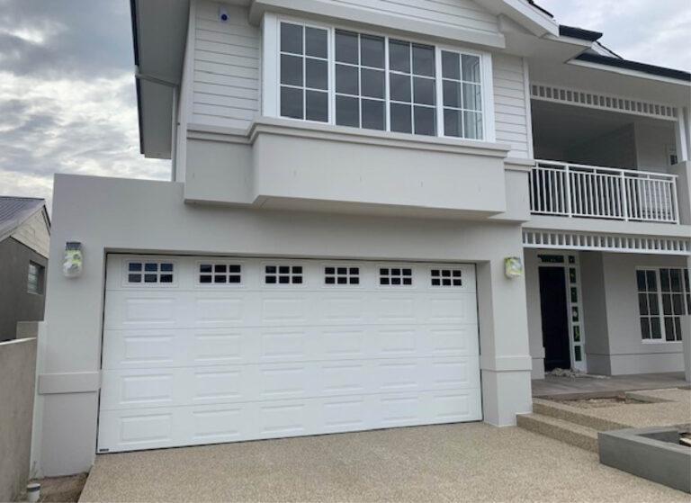 Hamptons Style Sectional Garage doors