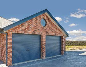 House with roller door