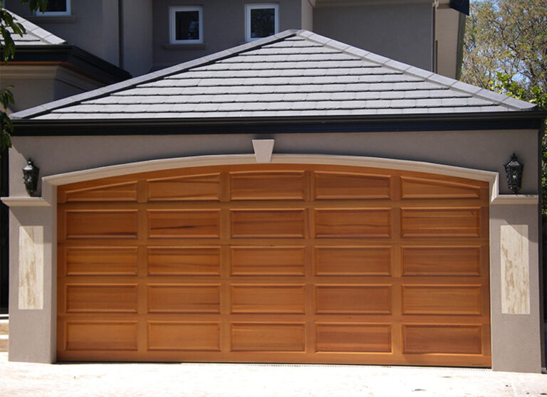 Timber vs Timber Look Garage Doors